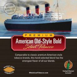 American Old-style Bold Tobacco Blend, 1lb