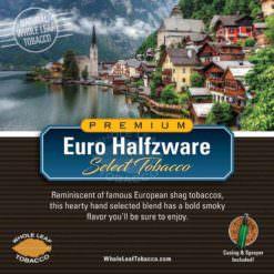 Euro Halfzware Tobacco Blend, 1lb