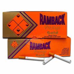 Ramback Prestige Gold Cigarette Tubes