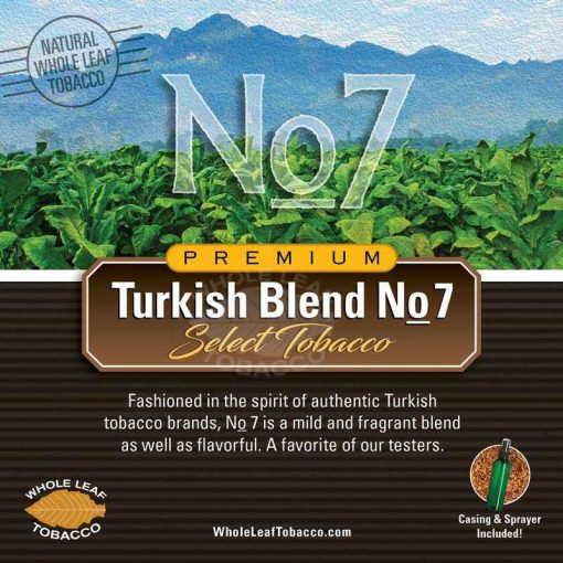 Turkish Blend No.7 (25 – 1 lb Bags)