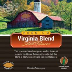 Virginia Blend Select Tobacco, 1lb