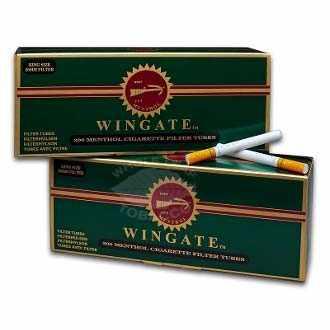 Wingate Menthol Cigarette Tubes