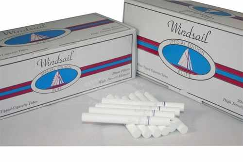 Windsail Silver Elite Special Edition Cigarette Tubes