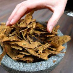 Prilep Tobacco being taken from bowl